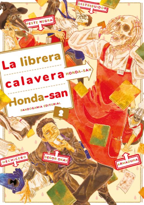 LA LIBRERA CALAVERA HONDA-SAN 2 portada