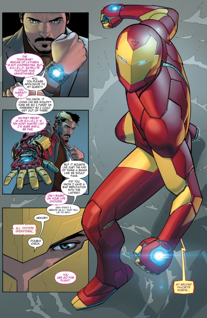 Marvel Now Deluxe Invencible Iron Man 1 PG1