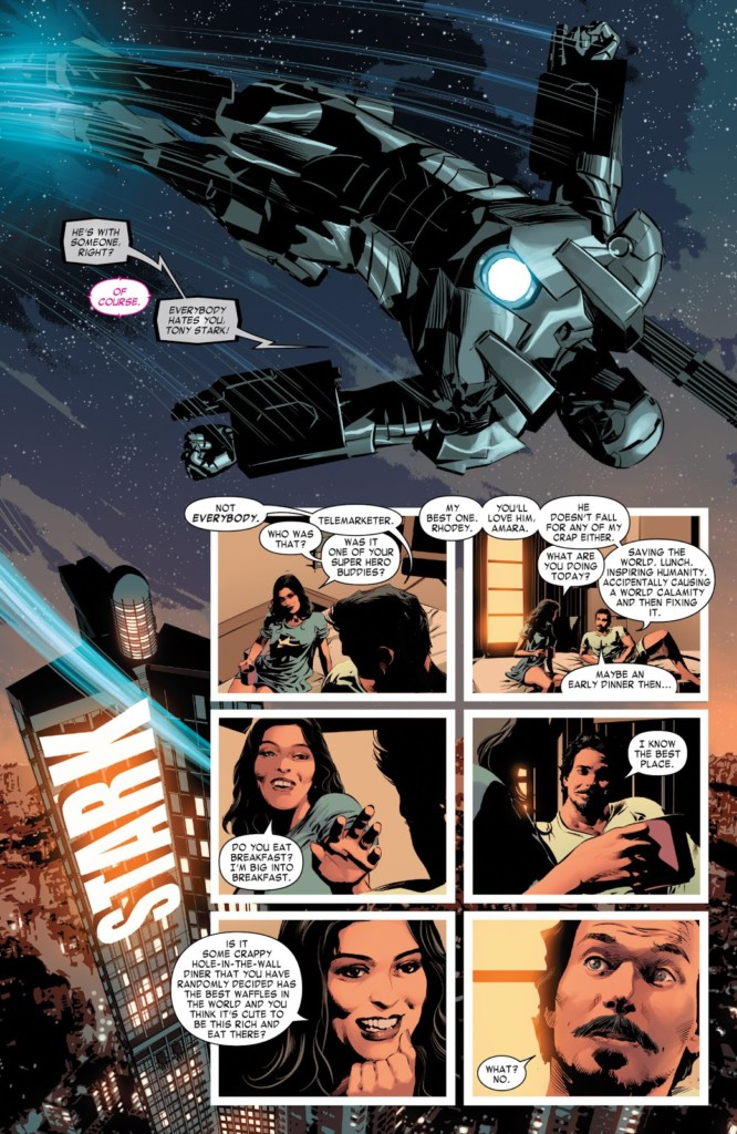 Marvel Now Deluxe Invencible Iron Man 1 PG2