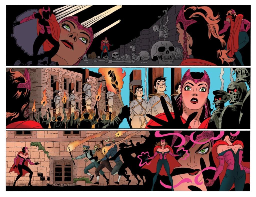 Marvel Omnibus La Bruja Escarlata pg2