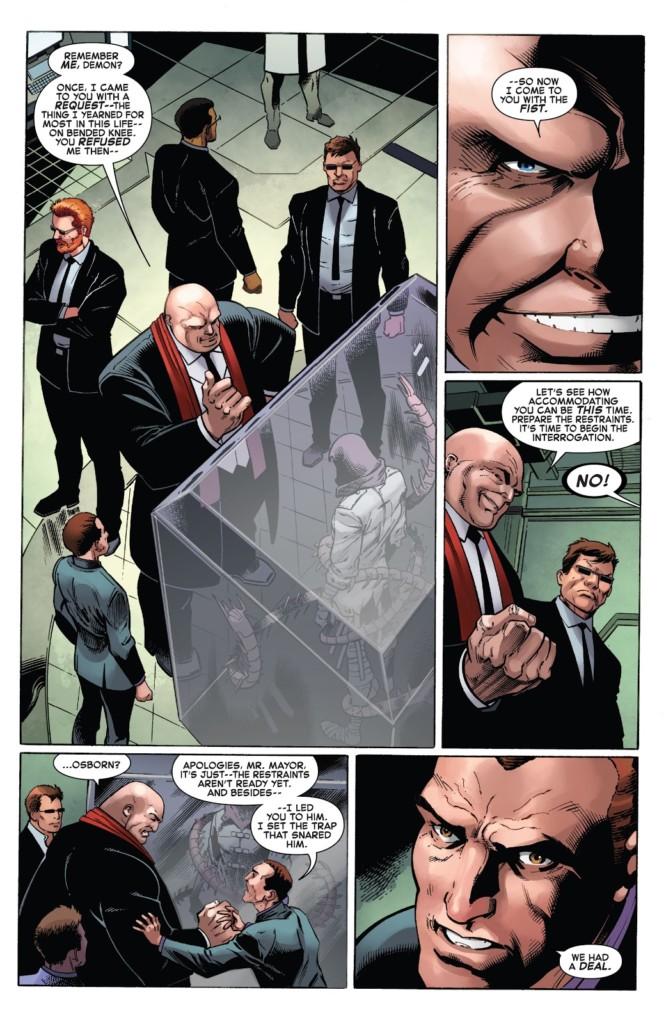 Spiderman 32 restos mortales post mortem pg1