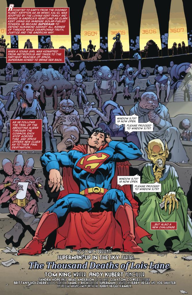 Superman. Arriba en el cielo