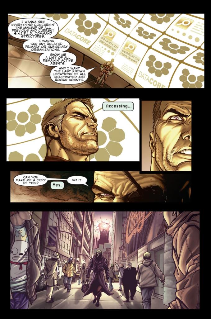 guerreros secretos nick furia pg1