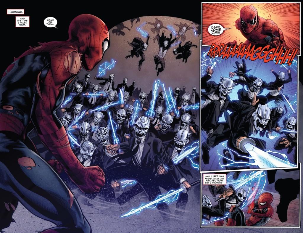 El Asombroso Spiderman 33 espacio negativo pg1