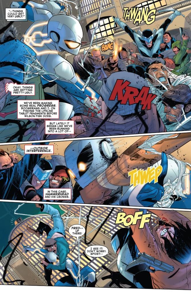 El Asombroso Spiderman El rescate del rey pg1