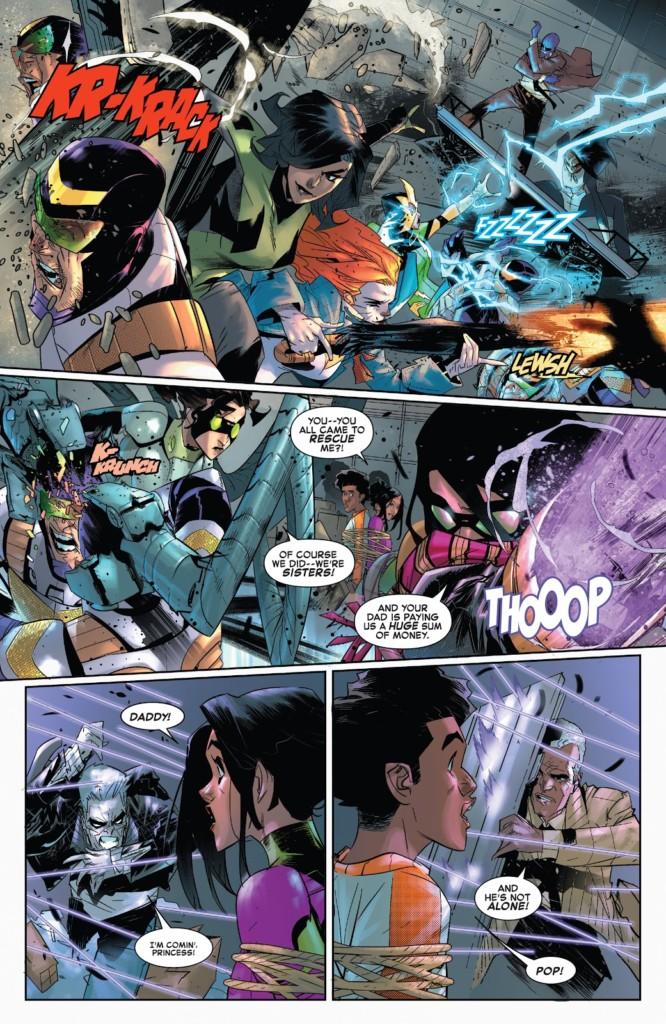 El Asombroso Spiderman El rescate del rey pg2