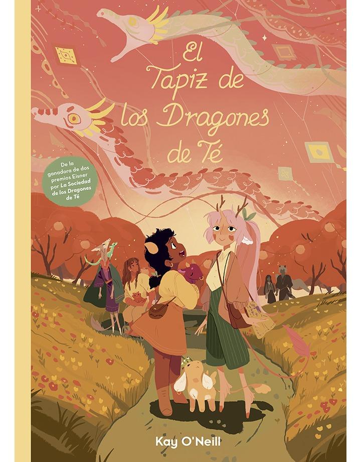 Novedades La Cúpula septiembre 2021 - El Tapiz de los Dragones de Té