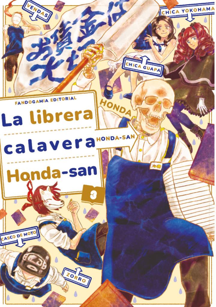 Novedades Fandogamia septiembre 2021 - La librera calavera Honda-San #3 (de 4)
