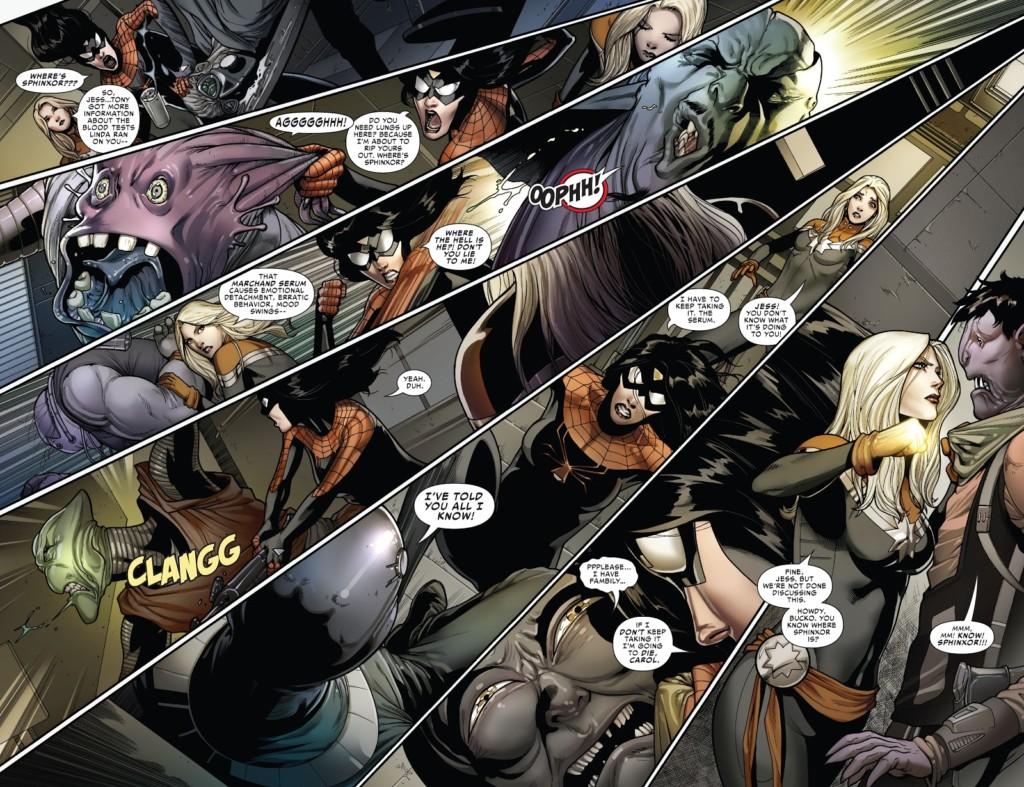 Spiderwoman 2 rabia ciega pg1