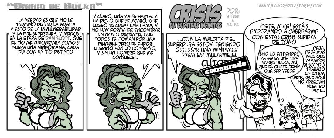 Crisis en las Tiras Infinitas: Son superhéroes, pero también son personas