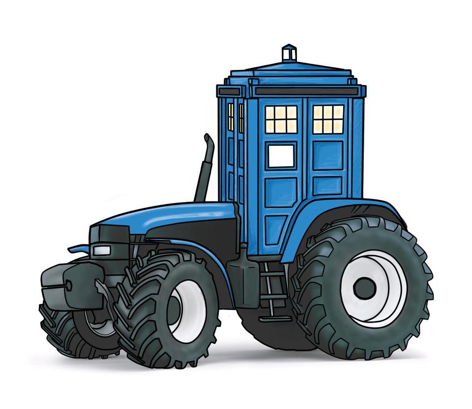Lanzamiento del cómic Tractor Who - Es la hora de las tortas!!!