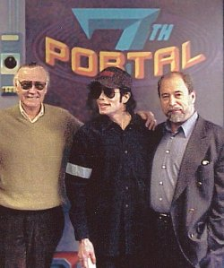 Stan Lee, Michael Jackson y Peter Paul