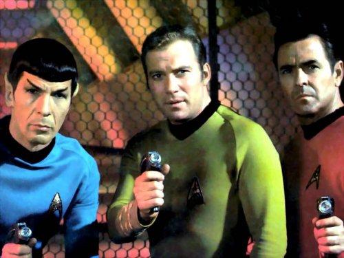 Kirk, Spock y Scotty