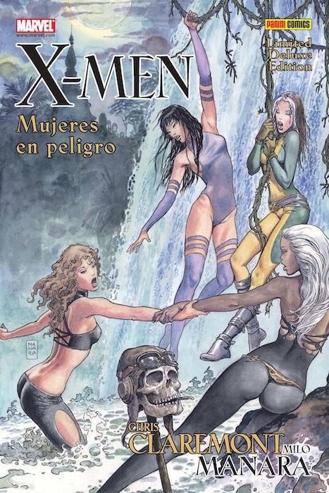 X-MEN - MUJERES EN PELIGRO